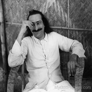 Smiling-Pictur-Of-Meher-Baba-Ji